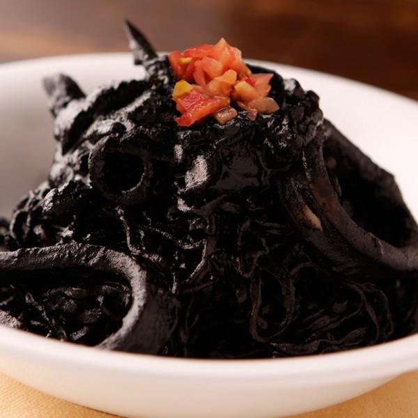 イカの墨煮ソース