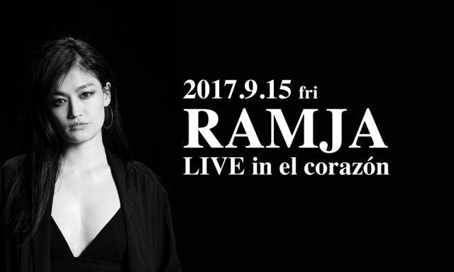 9月15日(金)RAMJA LIVE