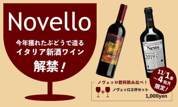 11/1〜4限定!新酒ワインで乾杯!